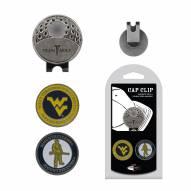West Virginia Mountaineers Hat Clip & Marker Set