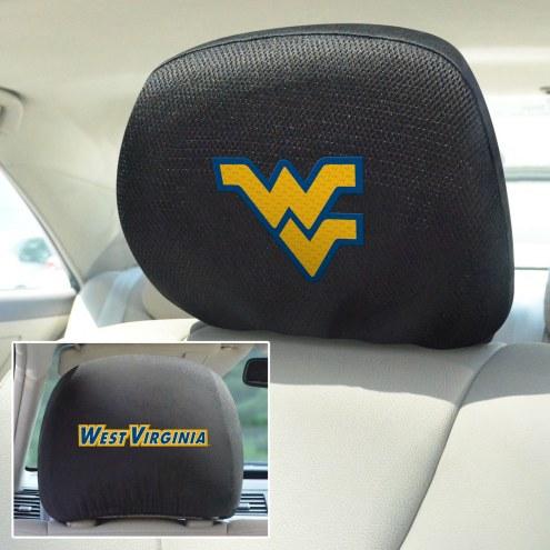 West Virginia Mountaineers Headrest Covers