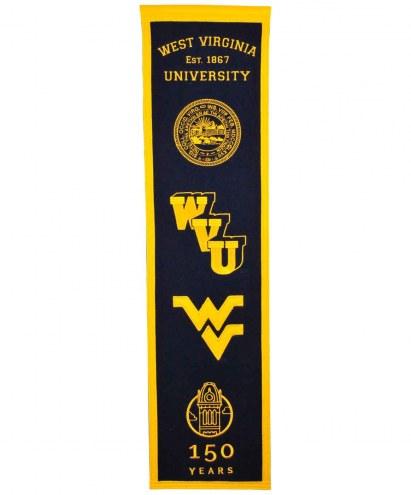 West Virginia Mountaineers Heritage Banner