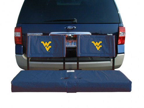 West Virginia Mountaineers Tailgate Hitch Seat/Cargo Carrier