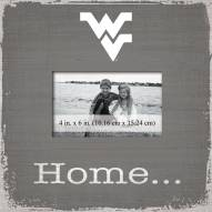 West Virginia Mountaineers Home Picture Frame