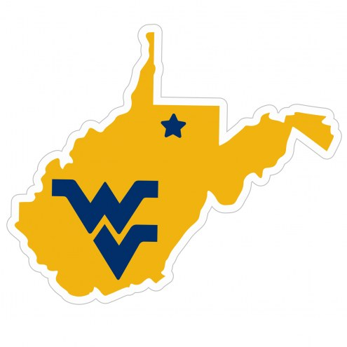 "West Virginia Mountaineers Home State 11"""" Magnet"