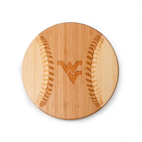 West Virginia Mountaineers Homerun Cutting Board