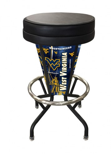 West Virginia Mountaineers Indoor/Outdoor Lighted Bar Stool