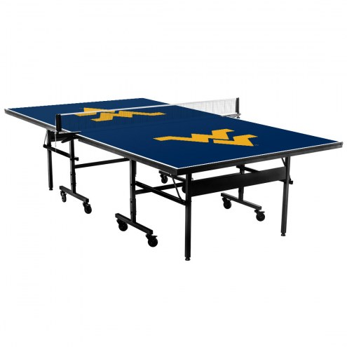 West Virginia Mountaineers Indoor Ping Pong Table