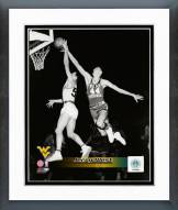 West Virginia Mountaineers Jerry West 1959 Action Framed Photo