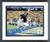 West Virginia Mountaineers Kevin White Action Framed Photo