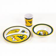 West Virginia Mountaineers Kid's Dish Set