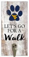 West Virginia Mountaineers Leash Holder Sign