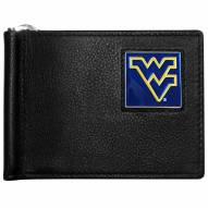West Virginia Mountaineers Leather Bill Clip Wallet