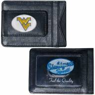 West Virginia Mountaineers Leather Cash & Cardholder