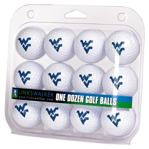 West Virginia Mountaineers Dozen Golf Balls