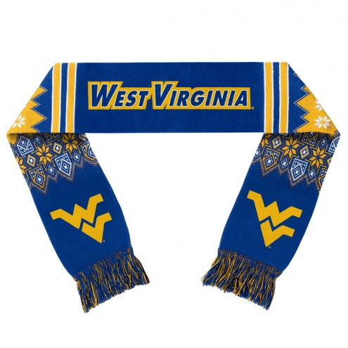 West Virginia Mountaineers Lodge Scarf