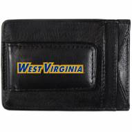 West Virginia Mountaineers Logo Leather Cash and Cardholder