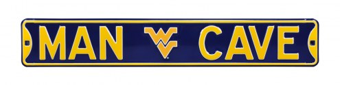West Virginia Mountaineers Man Cave Street Sign