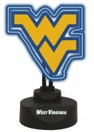West Virginia Mountaineers Team Logo Neon Light