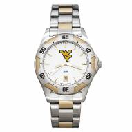 West Virginia Mountaineers Men's All-Pro Two-Tone Watch