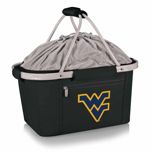 West Virginia Mountaineers Metro Picnic Basket