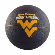 West Virginia Mountaineers Mini Rubber Basketball