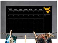 West Virginia Mountaineers Monthly Chalkboard with Frame
