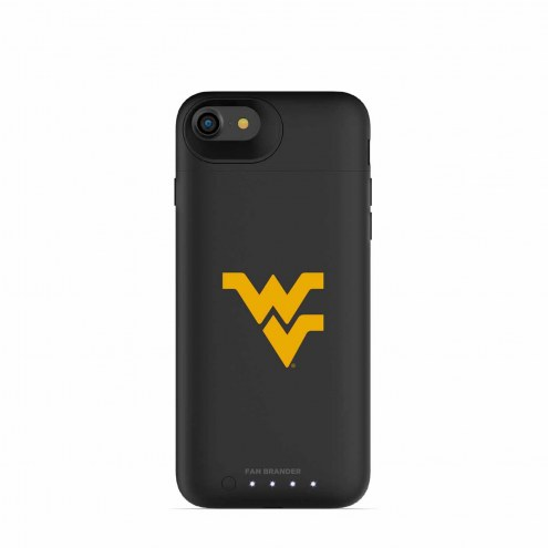 West Virginia Mountaineers mophie iPhone 8/7 Juice Pack Air Black Case