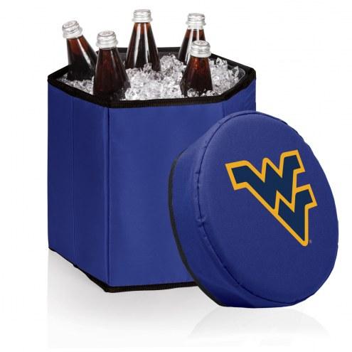 West Virginia Mountaineers Navy Bongo Cooler
