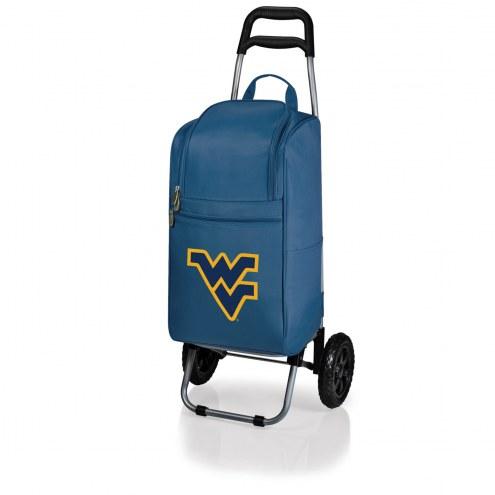 West Virginia Mountaineers Navy Cart Cooler