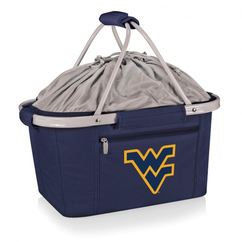 West Virginia Mountaineers Navy Metro Picnic Basket