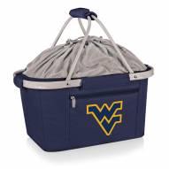 West Virginia Mountaineers Navy Metro Picnic Basket