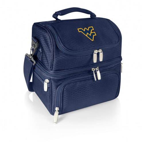 West Virginia Mountaineers Navy Pranzo Insulated Lunch Box