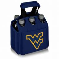 West Virginia Mountaineers Navy Six Pack Cooler Tote