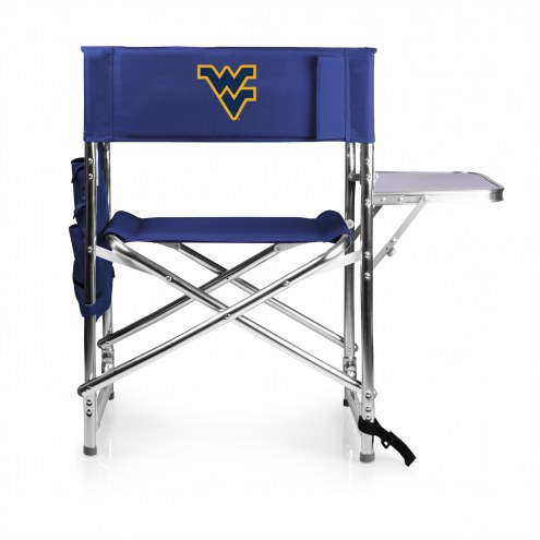 West Virginia Mountaineers Navy Sports Folding Chair
