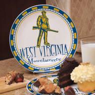 West Virginia Mountaineers NCAA Ceramic Plate