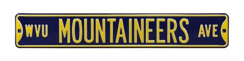 West Virginia Mountaineers NCAA Embossed Street Sign