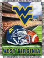 West Virginia Mountaineers NCAA Woven Tapestry Throw / Blanket