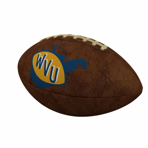 West Virginia Mountaineers Official Size Vintage Football