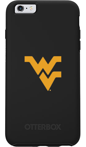 West Virginia Mountaineers OtterBox iPhone 6 Plus/6s Plus Symmetry Black Case