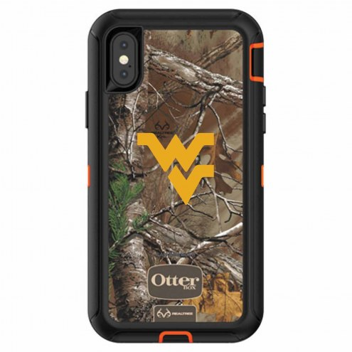 West Virginia Mountaineers OtterBox iPhone X Defender Realtree Camo Case