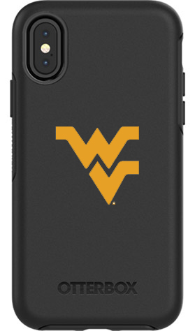 West Virginia Mountaineers OtterBox iPhone X Symmetry Black Case