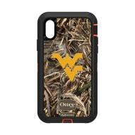West Virginia Mountaineers OtterBox iPhone XR Defender Realtree Camo Case