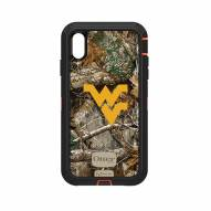 West Virginia Mountaineers OtterBox iPhone XS Max Defender Realtree Camo Case