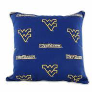 West Virginia Mountaineers Outdoor Decorative Pillow