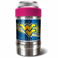 West Virginia Mountaineers Pink 12 oz. Locker Vacuum Insulated Can Holder