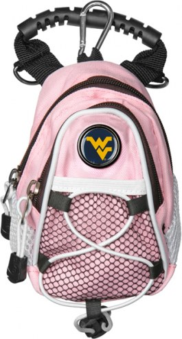 West Virginia Mountaineers Pink Mini Day Pack