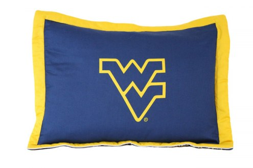 West Virginia Mountaineers Printed Pillow Sham