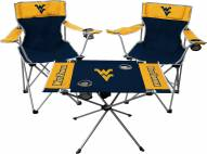 West Virginia Mountaineers Table & Chairs Set