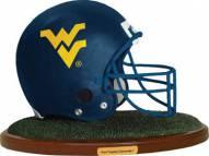 West Virginia Mountaineers Collectible Football Helmet Figurine
