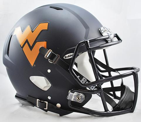 West Virginia Mountaineers Riddell Speed Full Size Authentic Football Helmet