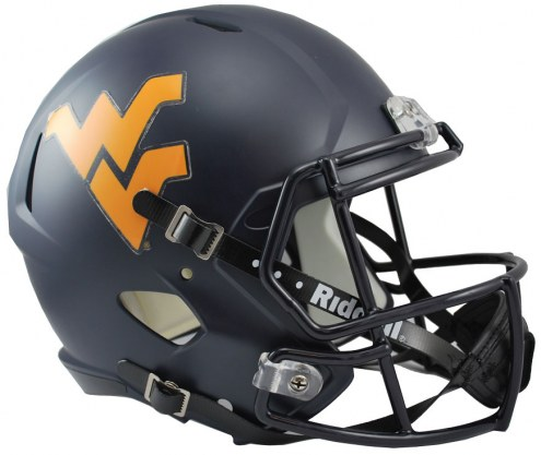 West Virginia Mountaineers Riddell Speed Collectible Football Helmet
