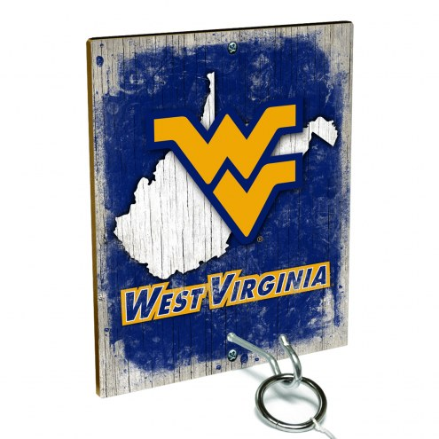 West Virginia Mountaineers Ring Toss Game